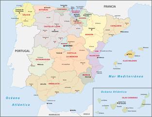 Spanien Administrativ