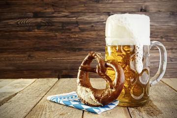 Beer and Pretzel; Oktoberfest