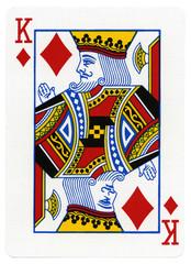Playing Card - King of Diamonds