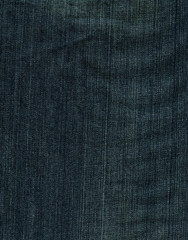 Denim Fabric Texture - Imperial Blue