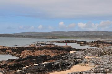 Côte rocheuse du Connemara