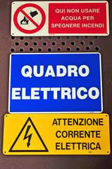 Quadro elettrico - carftelli
