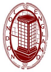 London stamp.