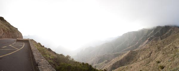 Mountain road, Canary Island Tenerife, Spain