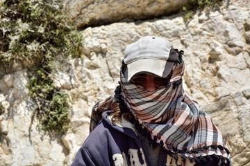 Jordanischer Junge