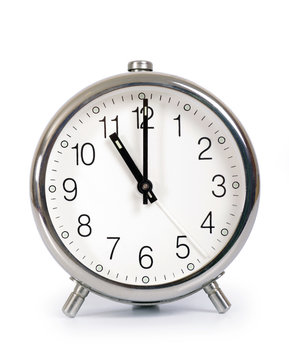 Alarm Clock, showing eleven o'clock