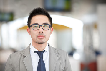 Asia business man portrait