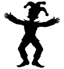Jestes silhouette.