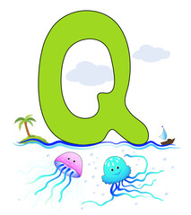 Alphabet, Q Qualle