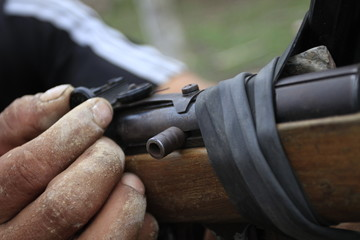 Arme Chilienne en Bolivie