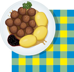 Sweden food cibo Svezia
