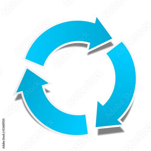 quot pfeil kreislauf blau quot  stockfotos und lizenzfreie vektoren clipart arrows pointing left clip art arrows going around corner