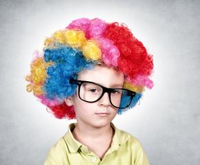 Bored clown