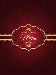 Stylish menu design