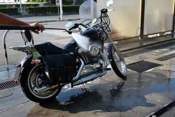 Lavaggio moto