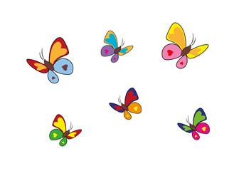 Schmetterlinge Sammlung