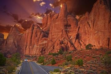 Wall Mural - Utah Scenic Road Trip