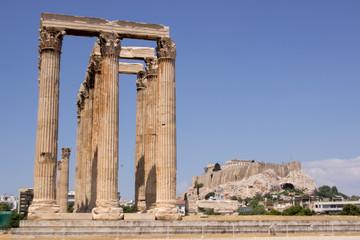 Zeus olympian temple