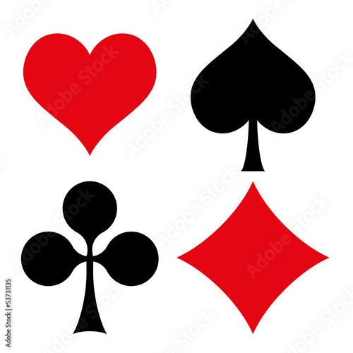 Kartenspiel Symbole