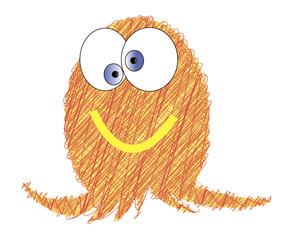 Sketchy octopus illustration