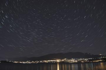 Campo dei Fiori, star trails