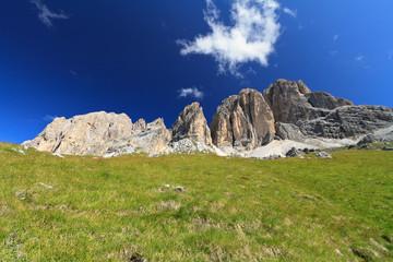 Dolomites - Sassopiatto mount