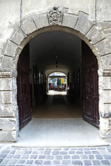 Old arched gate