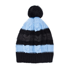 winter cap isolated on white background