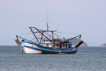 Big fishing boat