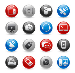 Communication Icons -- Gel Pro Series