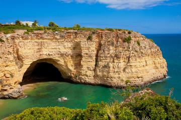 Fototapete - Grotte in Carvoeiro