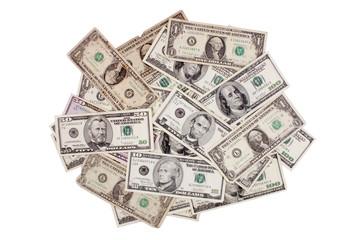 Dollars mount