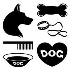 Dog signs.