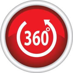Красная иконка с надписью 360