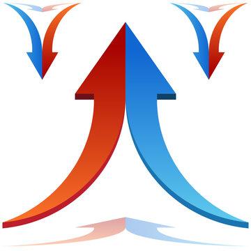 Split Arrows Joining