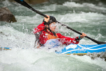 Fototapete - kayak