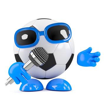 3d Football sings some songs