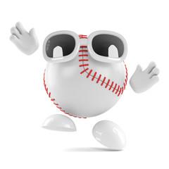 Baseball leaps