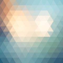 Pattern of geometric shapes, rhombic.