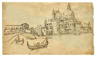 The scene of Italian culture: Venice
