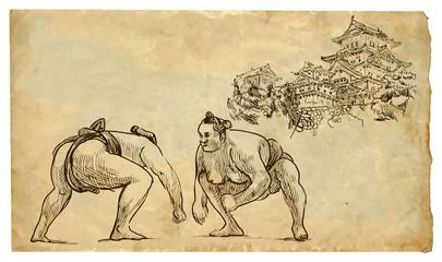 The scene of Japanese culture: Sumo