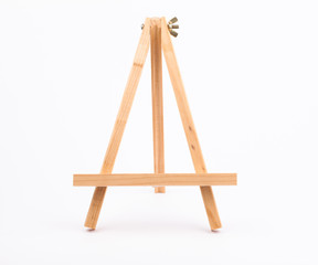 Easel isolated on a white backgrounds