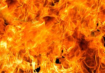 Photo sur Toile Feu, Flamme fire flames