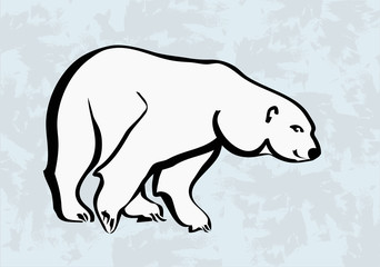 polar bear vector icons tattoo