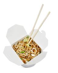 Take away food noodles