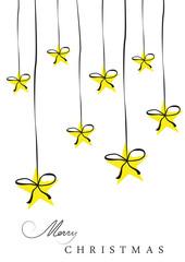 Sterne mit Schleife