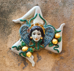 Trinakria-symbol of Sicily