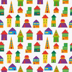 Cute house pattern