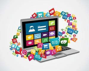 Online social media applications
