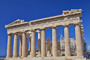 Parthenon, ancient Greek temple, Acropolis of Athens